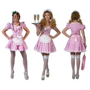 Sexy kamermeisje - Sexy verkleedkleding - Kostuum vrouw