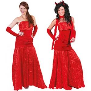 Duivel Vrouw - Verkleedkleding Halloween - Kostuum Vrouw