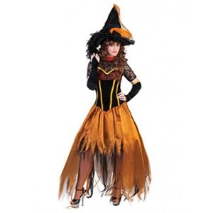 Heks van de Herfst - Halloween Verkleedkleding - Eng Kostuum