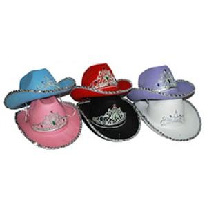 Diadeem Cowboy Hoed - Carnaval Verkleedkleding