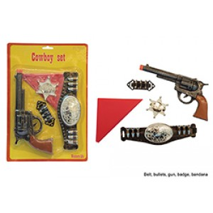 Sheriff Accessoire Set Single - Carnaval Verkleedkleding