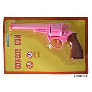 Roze Cowboy Revolver - Carnaval Verkleedkleding