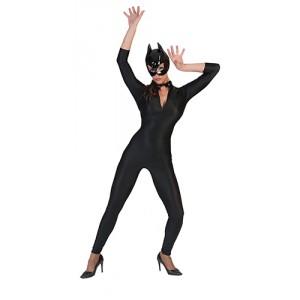 Sexy jumpsuit - FBI kostuum vrouw