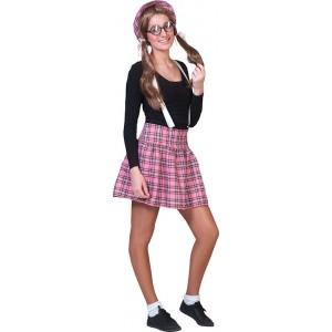 Nerd School Kostuum - Student Verkleedkleding  kostuum Vrouw