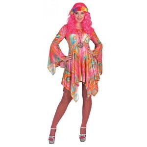 Hippie Vrouw - Psychodelic - Jaren 70 verkleedkleding
