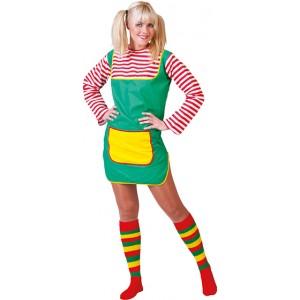 Lidia Jurk - Carnaval Verkleedkleding - Kostuum Vrouw