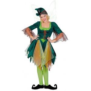 Bos Elf - Fantasie Verkleedkleding - Kostuum Vrouw