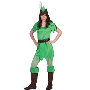 Peter Pan - Disney Carnaval Verkleedkleding - Kostuum Vrouw