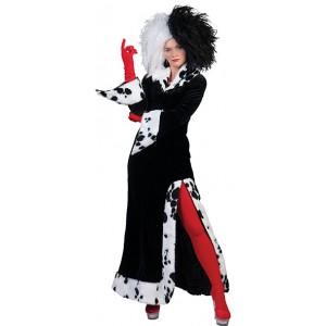 Cruella - Disney Carnaval Verkleedkleding - Kostuum Vrouw