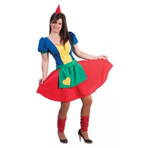 Kleine Dwergin - Carnaval Verkleedkleding - Kostuum Vrouw