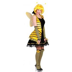 Bij Jurk - Carnaval Verkleedkleding - Kostuum Vrouw