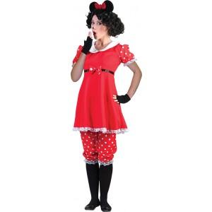 Minnie Mouse - Disney Carnaval Verkleedkleding Kostuum Vrouw