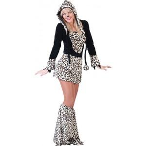 Lexi Luipaard - Carnaval Verkleedkleding - Kostuum Kind