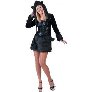 Sexy Panther - Carnaval Verkleedkleding - Kostuum Vrouw