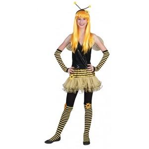 Bezige Bij  Fantasie Carnaval Verkleedkleding - Kostuum Kind