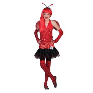 Ladybug Fantasie Carnaval Verkleedkleding - Kostuum Kind