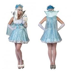 Ijs princes Clara - Carnaval Verkleedkleding - Kostuum Vrouw