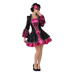 Sexy Vicky Jurk - Renaissance Verkleedkleding  Kostuum Vrouw