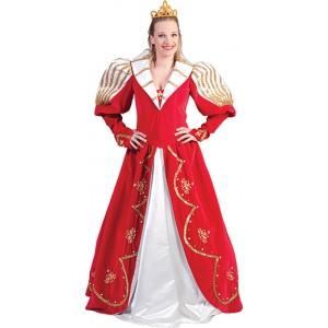 Luxe Prinses Carnaval Jurk - Verkleedkleding - Kostuum Vrouw