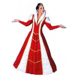 Rode Prinses Carnaval Jurk - Verkleedkleding - Kostuum Vrouw