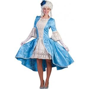 Louise Hofdame - Renaissance Verkleedkleding - Kostuum Vrouw
