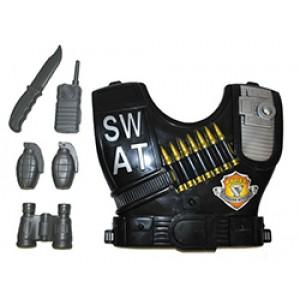 Politie Set SWAT - Carnaval Verkleedkleding