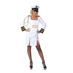 Sexy kapitein - Zeeman verkleedkleding - Kostuum vrouw