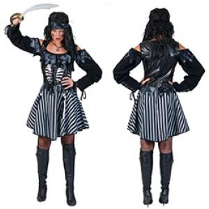 Spookvloot Piraat - Piraten Verkleedkleding - Kostuum Vrouw