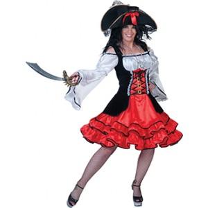Piraat Awilda - Piraten Verkleedkleding - Kostuum Vrouw