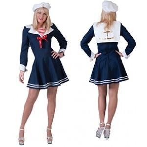 Matroos - Zeeman verkleedkleding - Kostuum vrouw