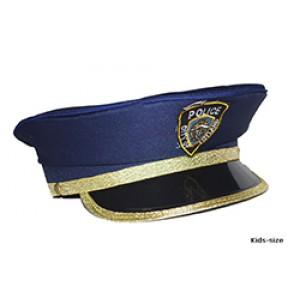 Klassieke Politie Pet Kind - Carnaval Verkleedkleding