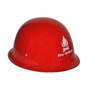 Brandweer Helm Metaal - Carnaval Verkleedkleding