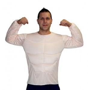 Spieren Shirt - Bachelor Verkleedkleding - Kostuum Man