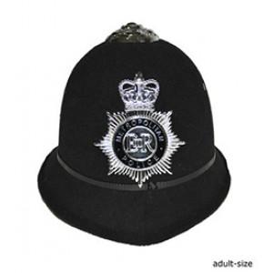Engelse Politie Pet - Carnaval Verkleedkleding