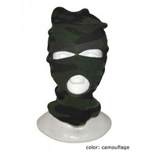 Boeven Masker Camo - Carnaval Verkleedkleding