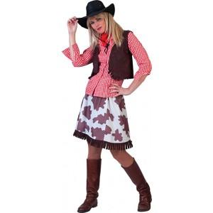 Cowgirl - Cowboy verkleedkleding - Kostuum vrouw