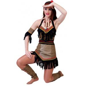 Indianen meisje - Indianen verkleedkleding - Kostuum vrouw