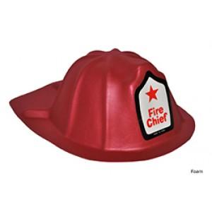 Brandweer Helm Foam - Carnaval Verkleedkleding