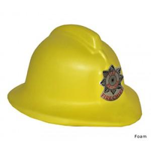 Brandweer Helm Foam Geel - Carnaval Verkleedkleding