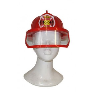 Brandweer Helm Kap - Carnaval Verkleedkleding