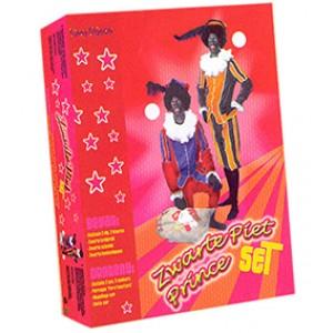Zwarte Piet Set Geel - Sinterklaas Verkleedkleding - Kostuum