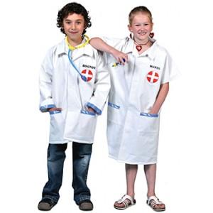 Verpleegstersjas - Ziekenhuis Verkleedkleding  Kostuum Kind