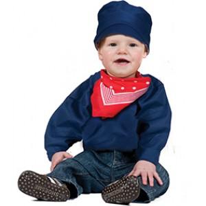 Overall - Kleine Boeren Verkleedkleding  - Kostuum Baby
