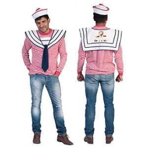Witte Anker Collier - Zeeman Verkleedkleding - Kostuum Man