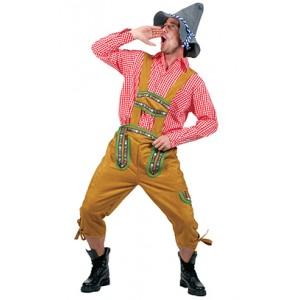 Jodelaars Broek - Oktoberfest - Lederhose - Kostuum Man
