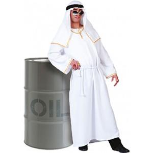 Rijke Olie Sheik - Verkleedkleding Arabisch - Kostuum Man