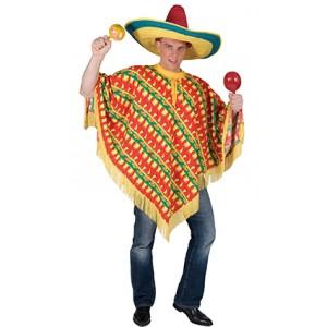 Amigo Poncho - Verkleedkleding  Zuid-Amerika - Kostuum Man
