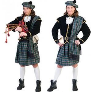 Schotse Connor - Verkleedkleding Schotland - Kostuum Man