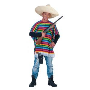 Poncho Mercado - Verkleedkleding Zuid-Amerika - Kostuum Man