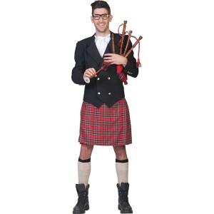 Schot met kilt - Verkleedkleding Schotland  - Kostuum Man